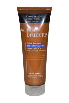 John Frieda U-HC-1576 Brilliant Brunette Moisturizing Shampoo - 8.45 oz - Shampoo