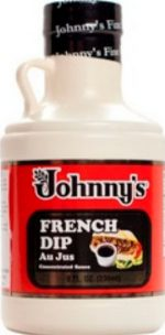 Johnnys B78591 Johnny S French Dip Au Jus Sauce Concentrate -6x8 Oz