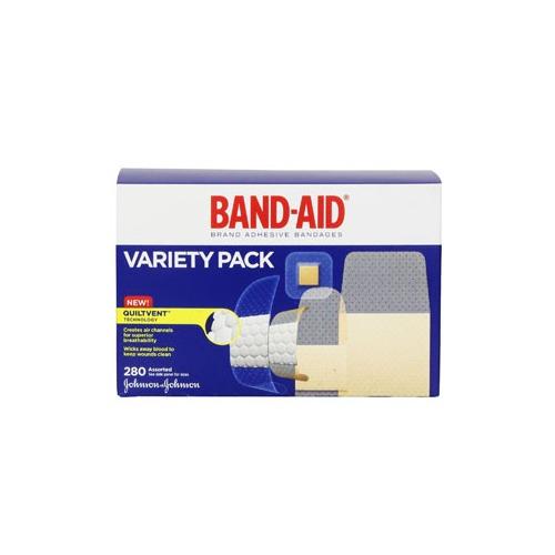 Johnson & Johnson Consumer Products 53004711 Band - Aid Brand Adhesive Bandages Variety Pack