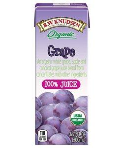 Juice 95% Grape Aseptic Box 4/6.75Fluid Oz (Pack of 7)