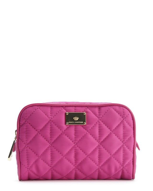 Juicy Couture JUIB1 Pink Cosmetic Bag