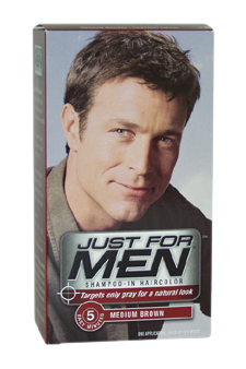 Just For Men M-HC-1068 Shampoo-In Hair Color Medium Brown No. 35 - 1 Application - Hair Color