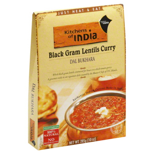 KITCHENS OF INDIA ENTRE RTE DAL BUKHARA CURRY-10 OZ -Pack of 6