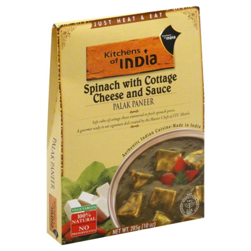 KITCHENS OF INDIA ENTRE RTE PALAK PANEER SC-10 OZ -Pack of 6