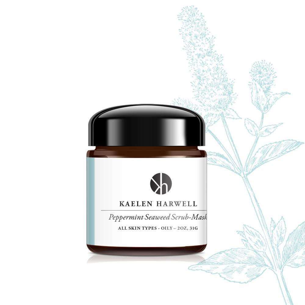 Kaelen Harwell 853008006136 Peppermint Seaweed Scrub-Mask