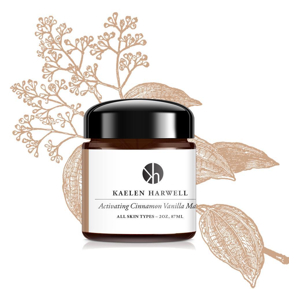 Kaelen Harwell 853008006181 Activating Cinnamon Vanilla Mask