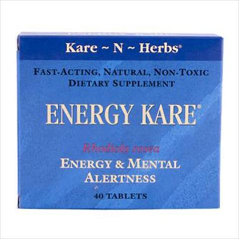 Kare-N-Herbs Energy Kare - 40 Tablets