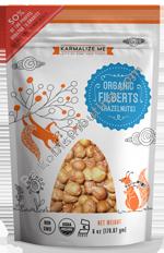 Karmalize.Me 232514 6 oz Organic Raw Hazelnuts