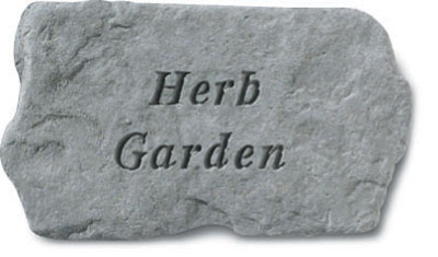 Kay Berry- Inc. 63820 Herb Garden - Garden Accent - 11 Inches x 6 Inches
