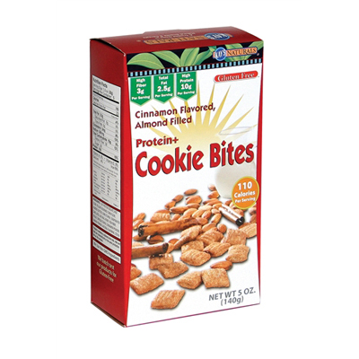 Kays Naturals Protein Cookie Bites - Cinnamon - Case of 6 - 1.2 oz