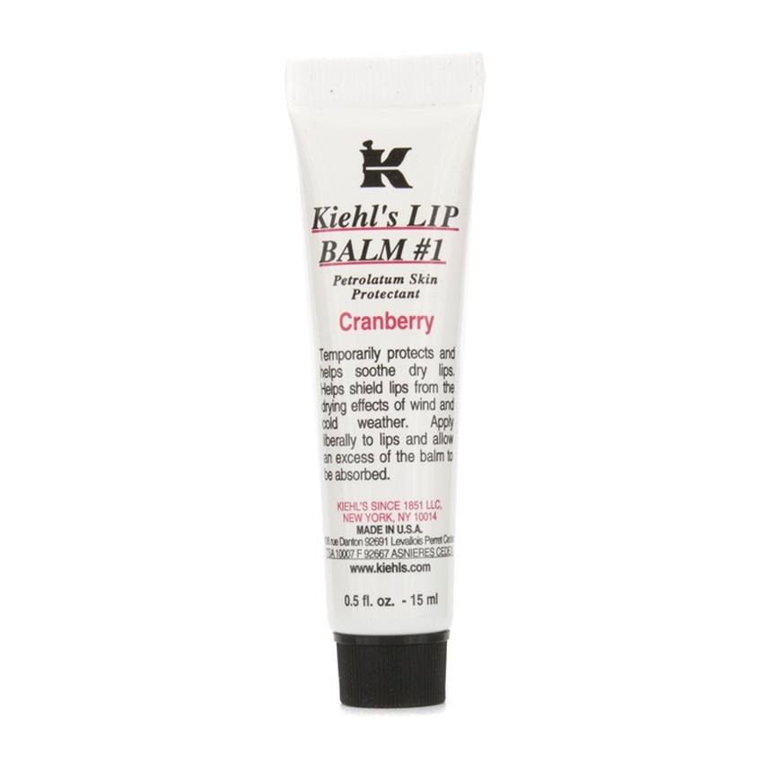Kiehls 158290 Lip Balm No.1 - Cranberry