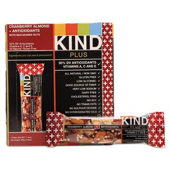 Kind Healthy Snacks KND17211 Nutrition Boost Bar Cranberry Almond & Antioxidants