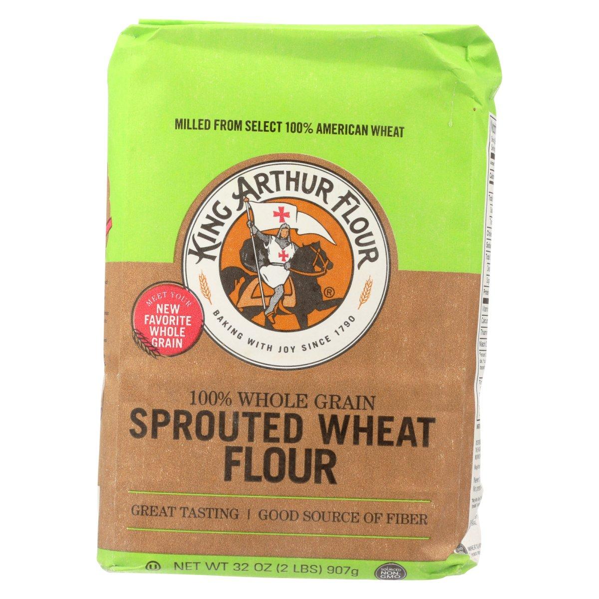King Arthur 1829555 2 lbs Wheat Flour Natural Food - Case of 6
