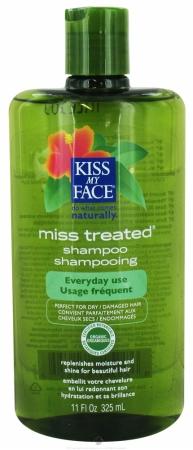 Kiss My Face 54944 Miss Treated Shampoo Parabn Free
