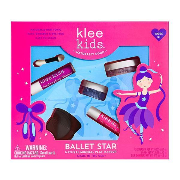 Klee Naturals 232337 Natural Mineral Play Ballet Star Makeup Kit