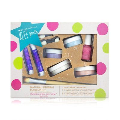 Klee Naturals 232342 Natural Mineral Play Up and Away Makeup Kit