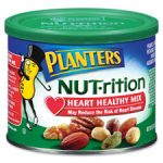 Kraft Foods KRF05957 Planters Heart Healthy Mix Assorted Nuts 9.75oz. Green