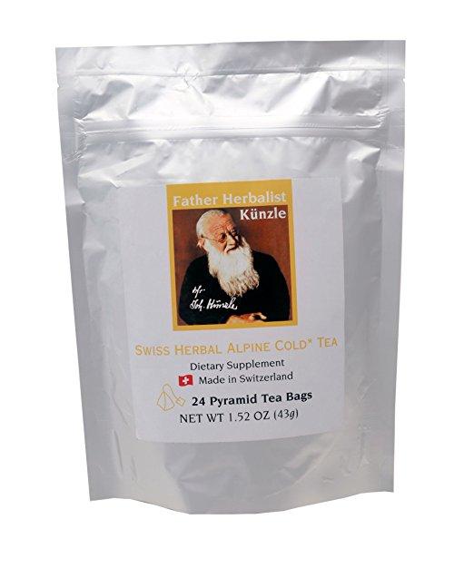 Kunzle 040015 Swiss Herbal Alpine Cold Tea