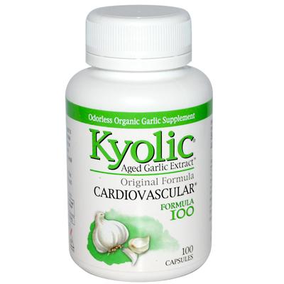 Kyolic Aged Garlic Extract Hi-Po Cardiovascular Original Formula 100 - 100 Capsules