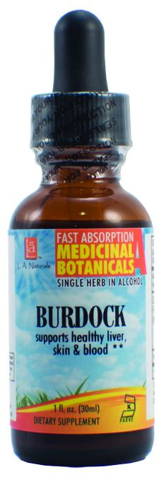 LA Naturals 1133851 1 oz Burdock Organic Liquid