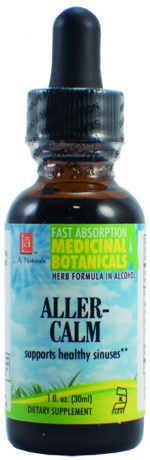 LA Naturals 1134701 1 oz Aller-Calm for Supports Healthy Sinuses