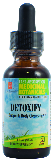 LA Naturals 1134711 1 oz Detoxify for Supports Body Cleansing