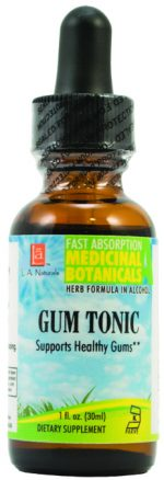 LA Naturals 1135261 1 oz Gum Tonic for Supports Healthy Gums