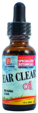 LA Naturals 1135401 1 oz Ear Clear Oil