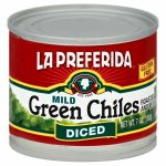 LA PREFERIDA 268531 CHILES GREEN DICED - 7 oz.