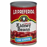 LA PREFERIDA 99821 La Preferida Light Red Kidney Beans - 15 oz.