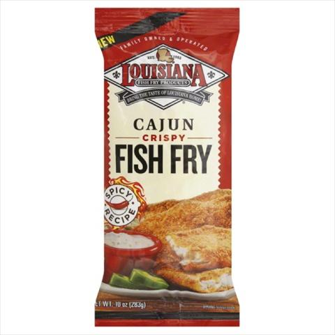 LOUISIANA FISH FRY CAJUN-10 OZ -Pack of 12