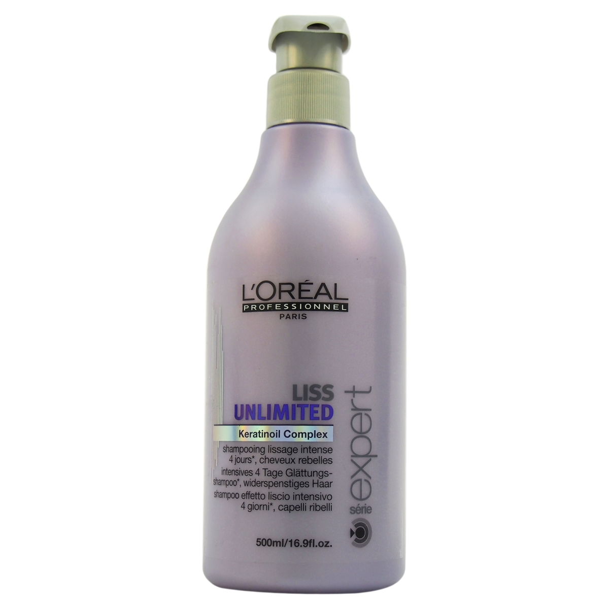 LOreal Professional Liss Unlimited Keratinoil U-HC-7815 16.9 oz Complex Shampoo for Unisex