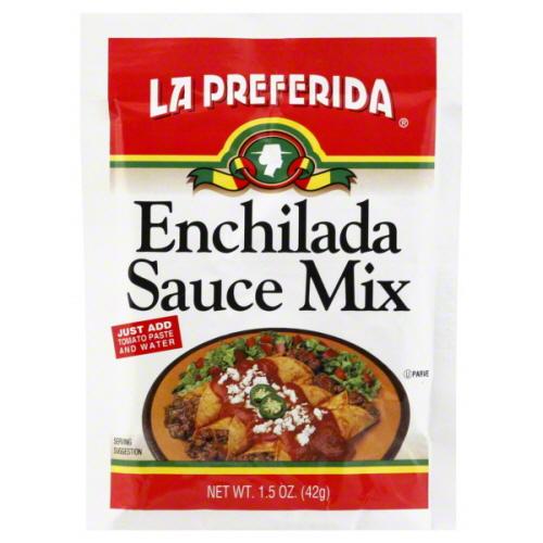 La Preferida Seasoning Mix Enchilada Sauce-1.5 Oz -Pack Of 24