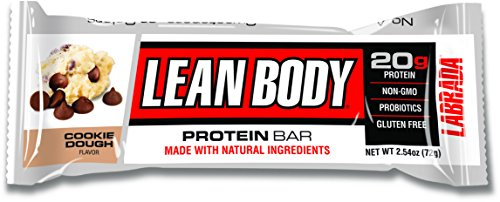Labrada Nutrition 470553 Lean Body Bar Cookie Dough Box