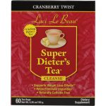 Laci Le Beau Super DieterS Tea Cranberry Twist - 60 Tea Bags