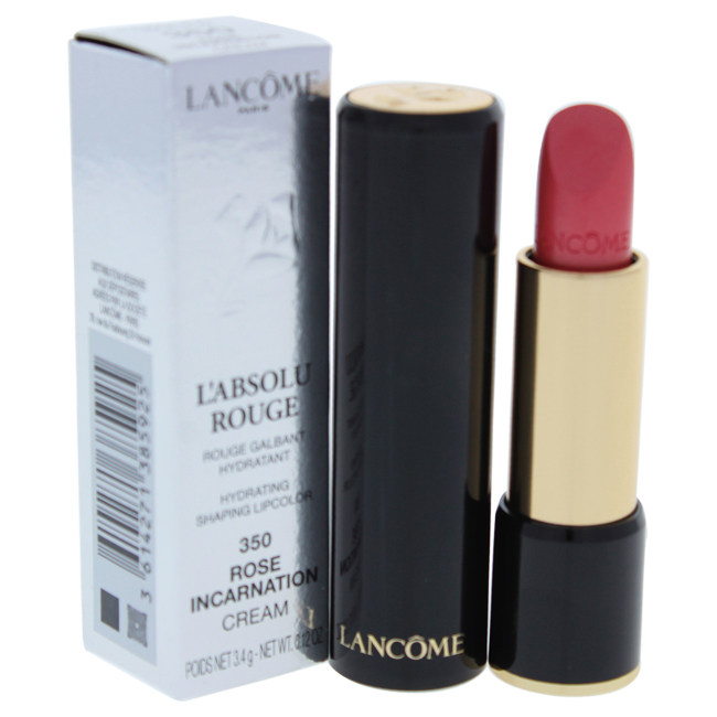Lancome W-C-13840 0.12 oz L-Absolue Rouge Hydrating Shaping Lipcolor - No.350 Rose Incarnation Cream
