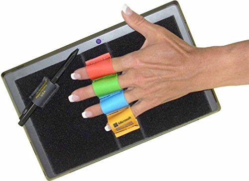 Lazy-Hands 201582 4-Loop Grip for MS Surface with Stylus Grip-Fits Most Microsoft Colors Solids