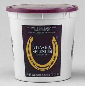 Leather CPR Horse Health - Vita E plus Selenium Crumbles 2.5 Pound - 75220