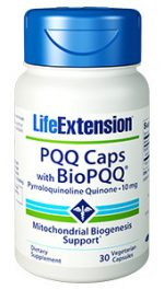 Life Extension 1500 10 mg. PQQ Caps with Bio PQQ