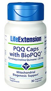 Life Extension 1647 20 mg. PQQ Caps with Bio PQQ