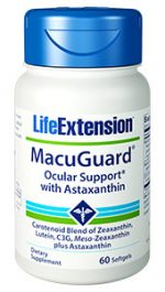 Life Extension 1886 Macu Guard Ocular Support with Astaxanthin