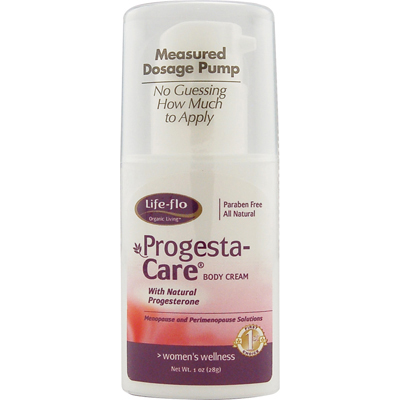 Life Flo 0147892 Progesta-Care Body Cream - 1 oz