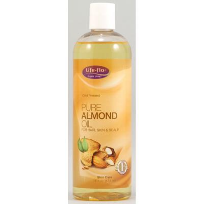 Life Flo 1167253 Pure Almond Oil - 16 fl oz