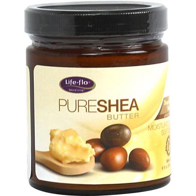 Life Flo 1167345 Pure Shea Butter Organic - 9 fl oz