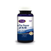 Life-flo Optimal Health The Power of Krill Omega-3 Supercharged 60 softgels 217418