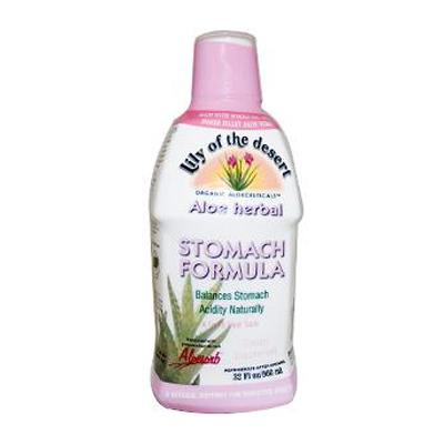 Lily Of The Desert 0938340 Aloe Herbal Stomach Formula Fresh Mint - 32 fl oz