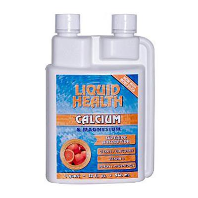 Liquid Health Products 0806711 Calcium and Magnesium - 32 fl oz