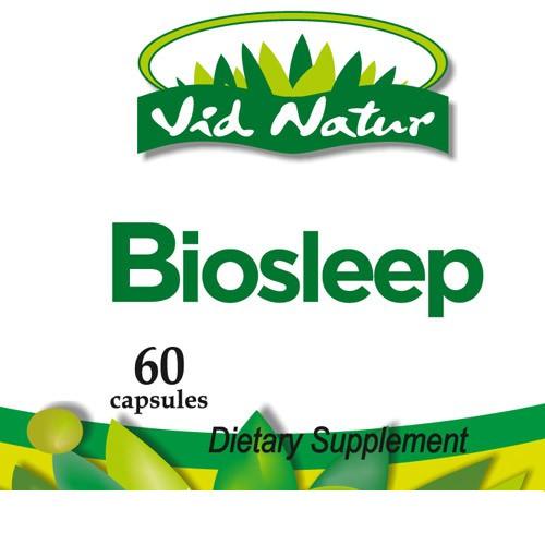 Living Health Products BIOS-003-01 Biosleep x60 caps 400mg