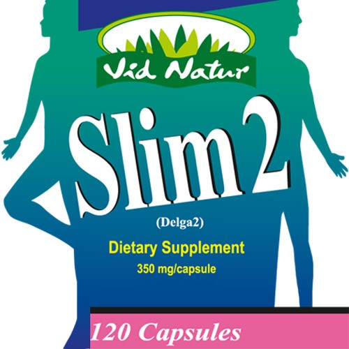 Living Health Products SLIM-003-01 Slim 2 x90 caps 400mg