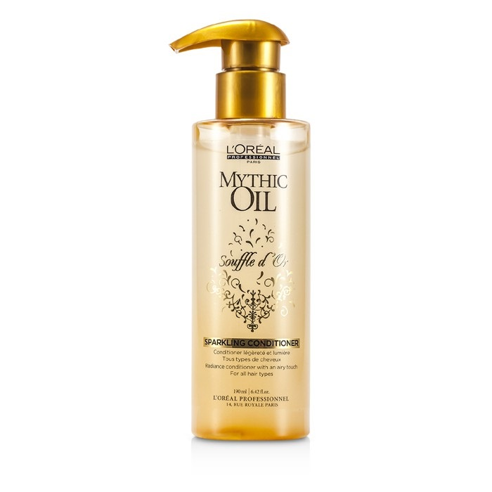 Loreal 162980 Professionnel Mythic Oil Souffle Dor Sparkling Conditioner for All Hair Types